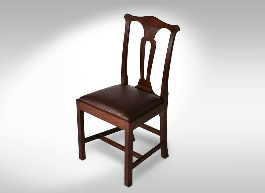 Walnut Side Chair