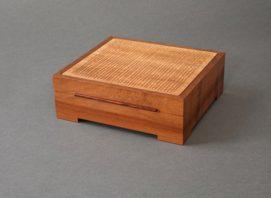 Madrone Grid Jewelry Box