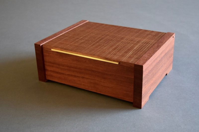 Palimpsest Bubinga Jewelry Box